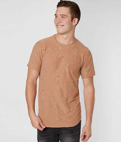 Rustic Dime Destructed Stretch T-Shirt