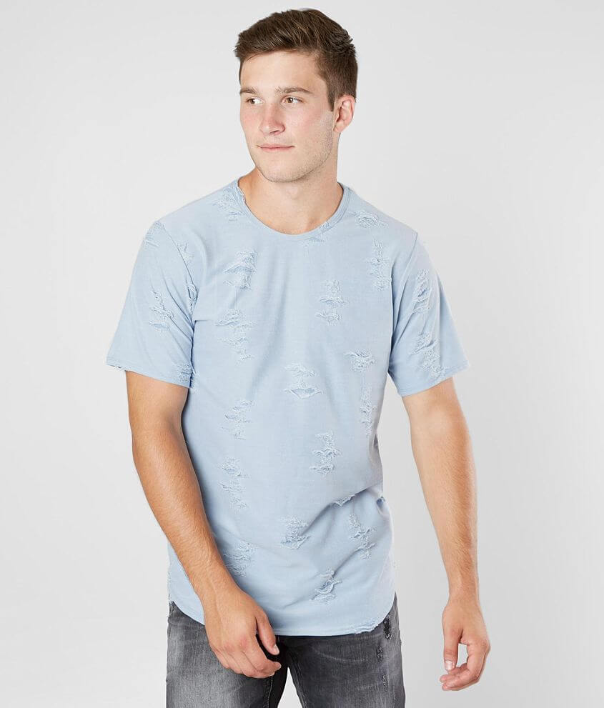 Rustic Dime Destructed Stretch T-Shirt front view