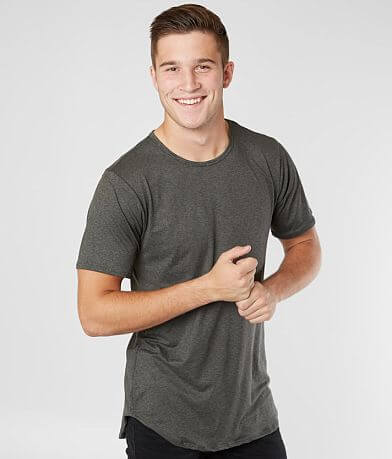 Rustic Dime Long Body Stretch T-Shirt