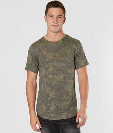 Rustic Dime Camo Washed Stretch T-Shirt