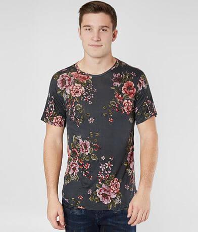 Rustic Dime Floral Print T-Shirt