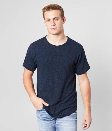 Rustic Dime Slub Knit Long Body T-Shirt
