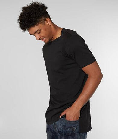 Rustic Dime Solid Long Body T-Shirt