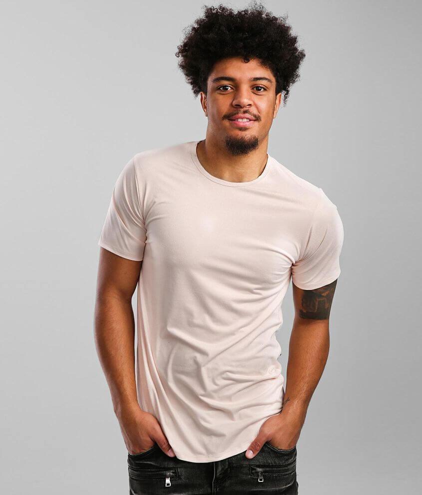 Rustic Dime Drop Tail Hem T-Shirt front view
