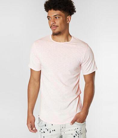 Rustic Dime Slub Knit Scallop T-Shirt