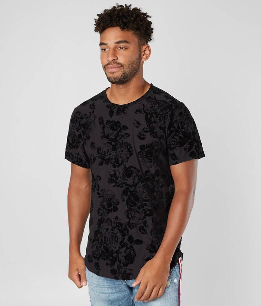 Rustic Dime Floral T-Shirt front view