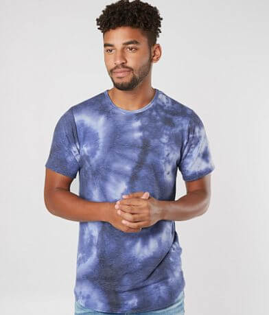 Rustic Dime Tie Dye Long Body Stretch T-Shirt