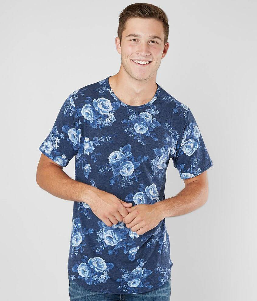 39d185696e4 Rustic Dime Washed Floral T-Shirt - Men s T-Shirts in Navy