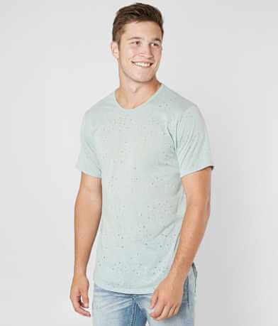 Rustic Dime Destructed Long Body T-Shirt
