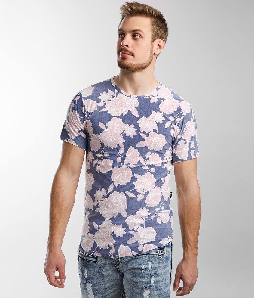 Rustic Dime Push Through Floral T-Shirt front view