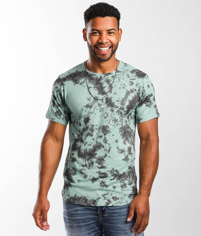 Rustic Dime Brushed Tie-Dye T-Shirt front view