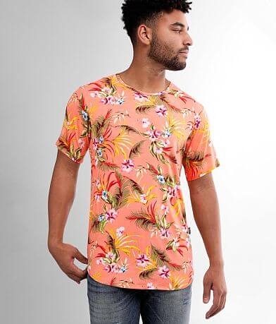 Rustic Dime Tropical Floral T-Shirt