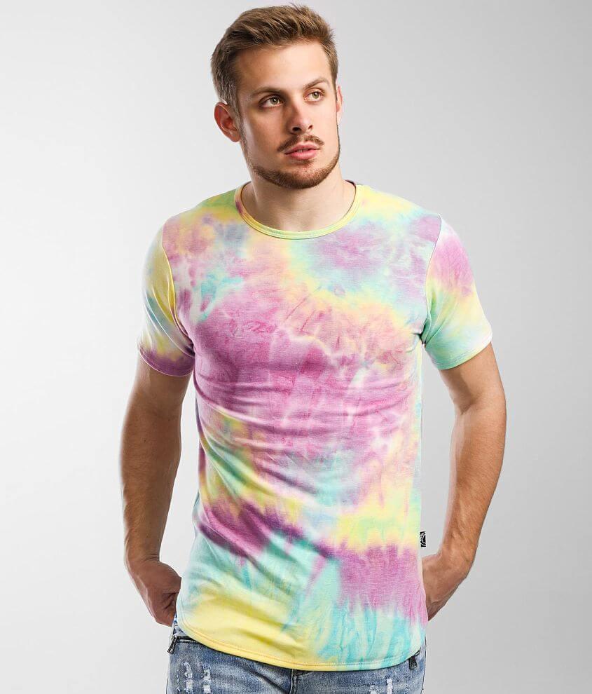 Rustic Dime Tie Dye T-Shirt front view