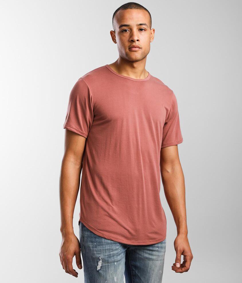 Rustic Dime Long Body T-Shirt front view