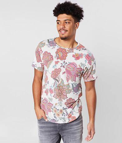 Rustic Dime Floral Paisley T-Shirt