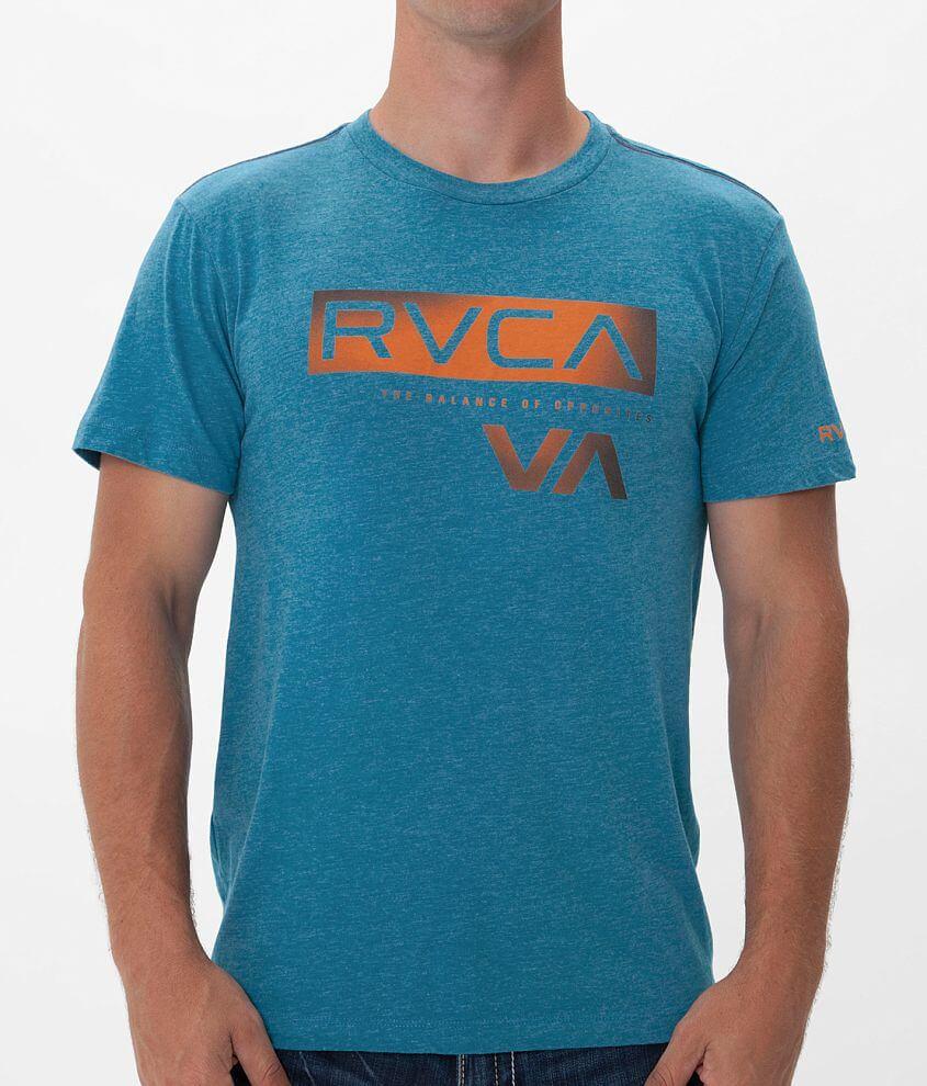 RVCA Black Bars T-Shirt front view
