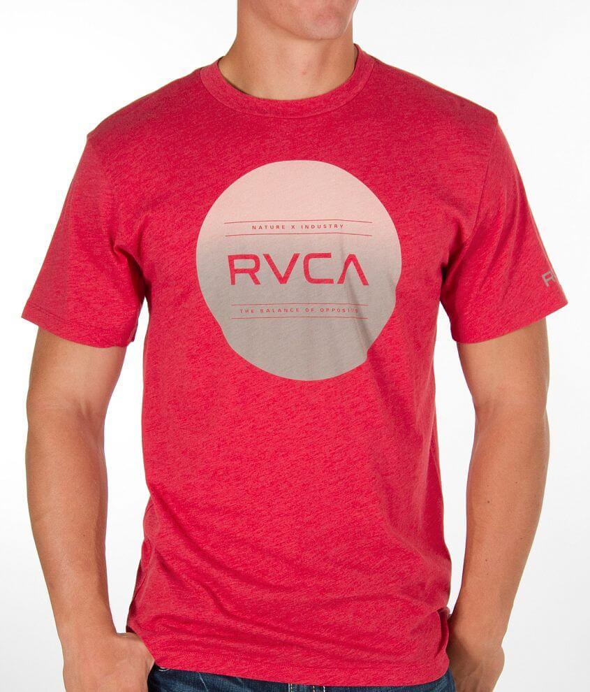 RVCA Circle Fade T-Shirt front view