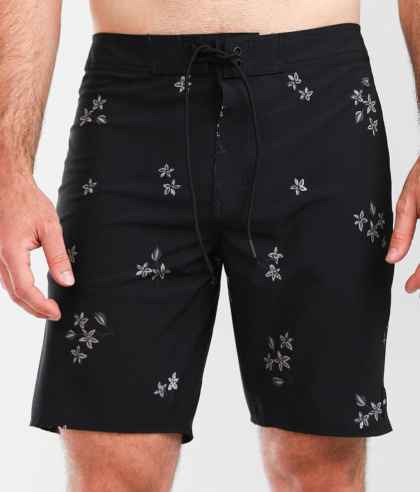 RVCA Floral Stretch Boardshort front view