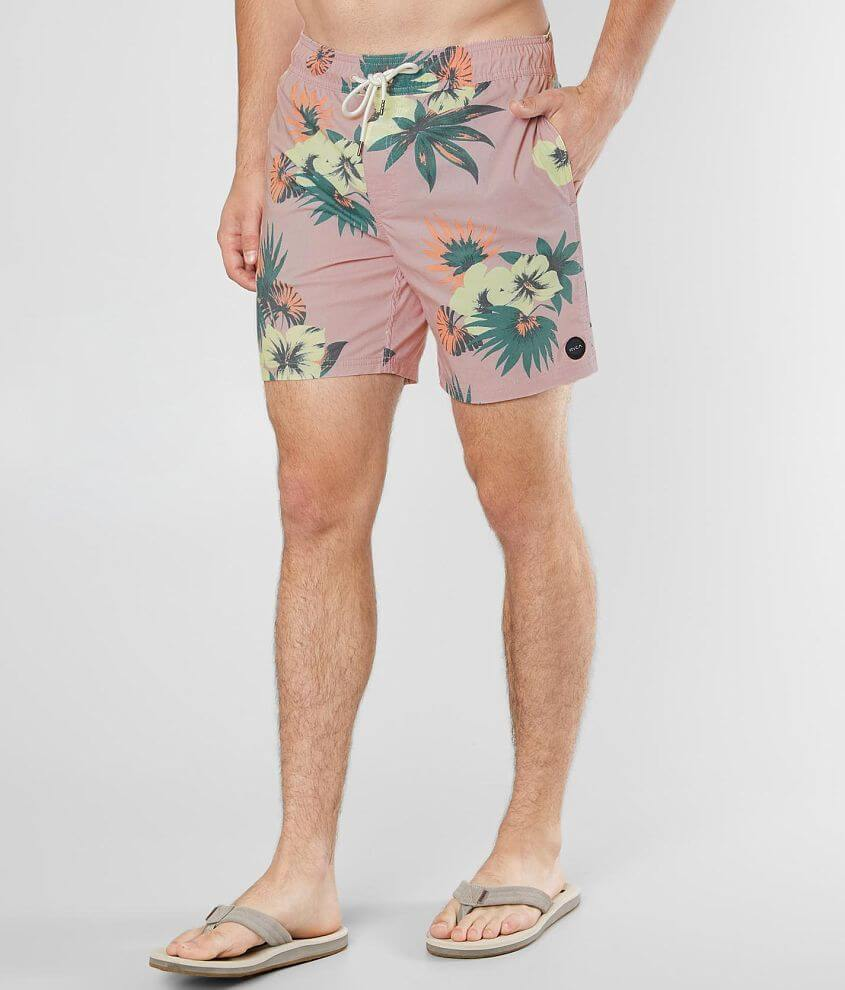 RVCA Eclectic Floral Stretch Boardshort - Men's Boardshorts