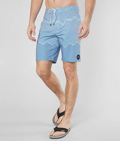 RVCA Nature Pulled Lines Stretch Boardshort