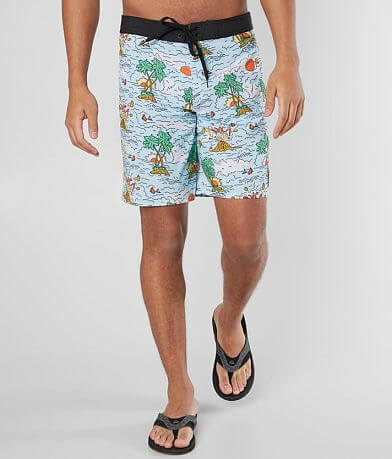RVCA Industry Island Sunset Stretch Boardshort