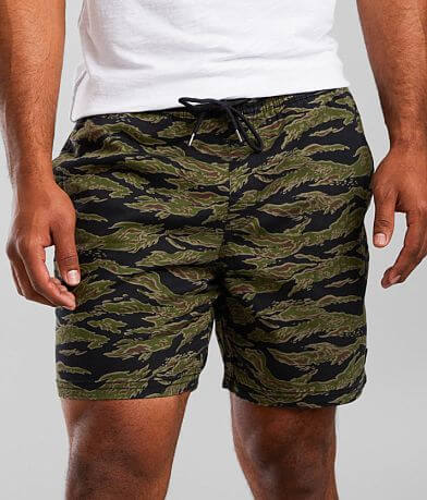 RVCA Escape Camo Stretch Short
