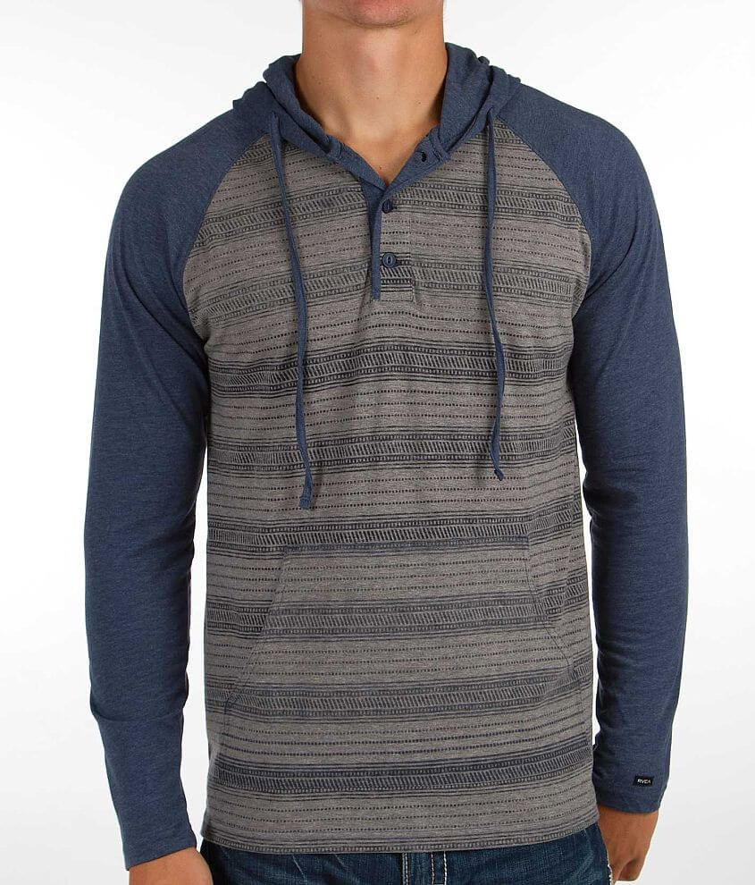 RVCA Russ Henley Hoodie front view