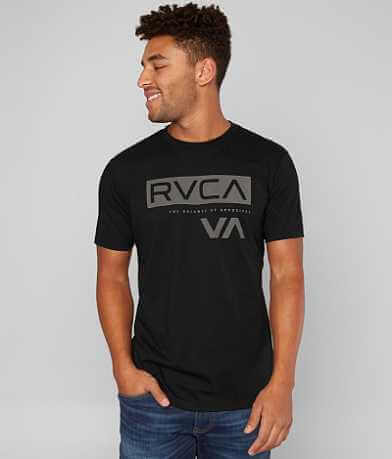 RVCA Black Bar T-Shirt