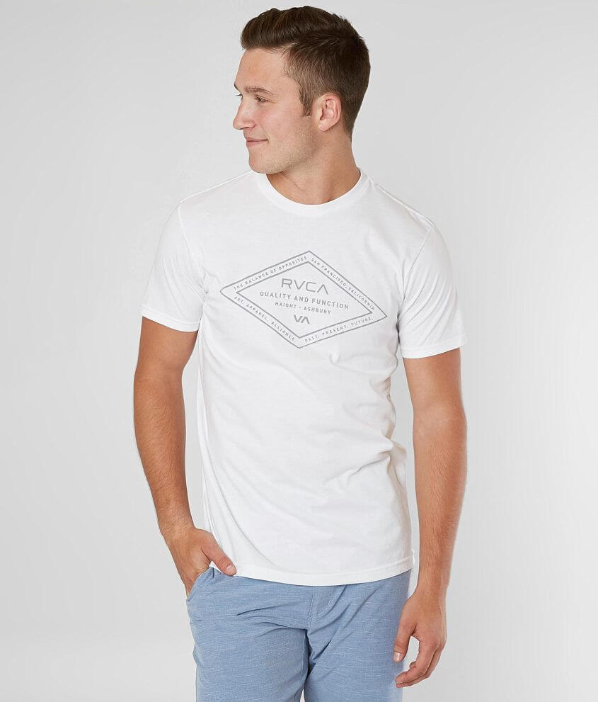 RVCA San Francisco Frame T-Shirt - Men\'s T-Shirts in White | Buckle