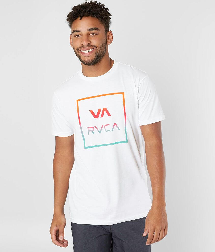 RVCA All The Way T-Shirt front view
