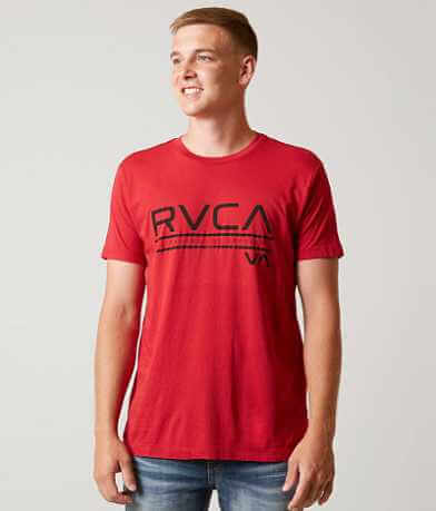 RVCA Distressed Stripe T-Shirt
