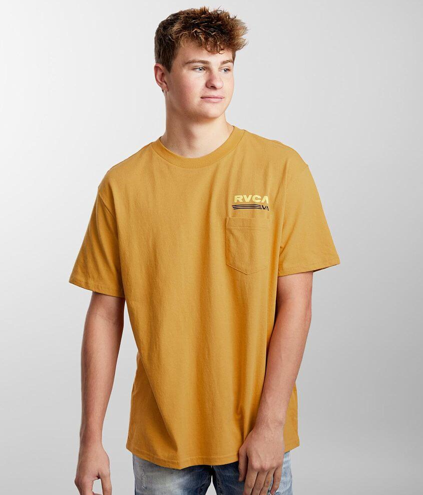 RVCA Oval T-Shirt front view