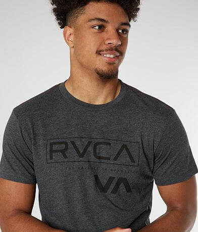 RVCA Outline Black Bar T-Shirt