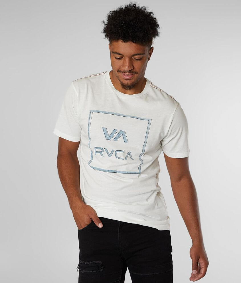 RVCA Unregistered T-Shirt front view