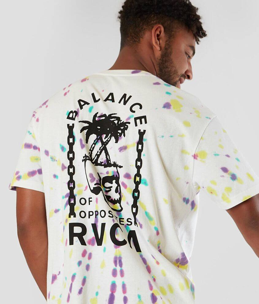 RVCA Chain of Balance T-Shirt front view