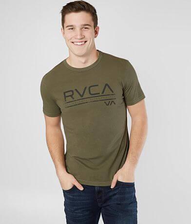 RVCA Distress Stripe T-Shirt