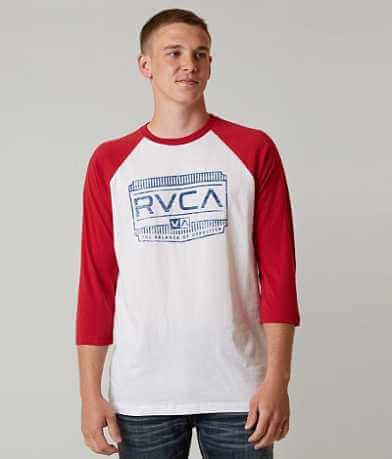 RVCA Buckle Woodwork T-Shirt