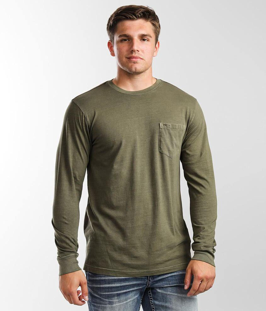 RVCA Pigment Dye T-Shirt front view