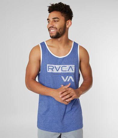 RVCA Black Bar Tank Top