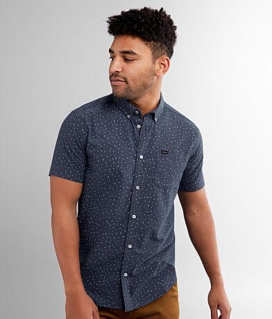 RVCA Triangle Geo Stretch Shirt