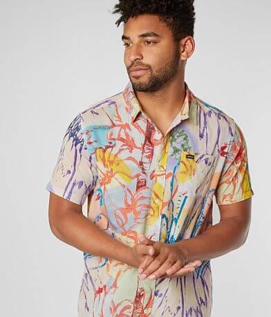 RVCA Vaughn Floral Woven Shirt