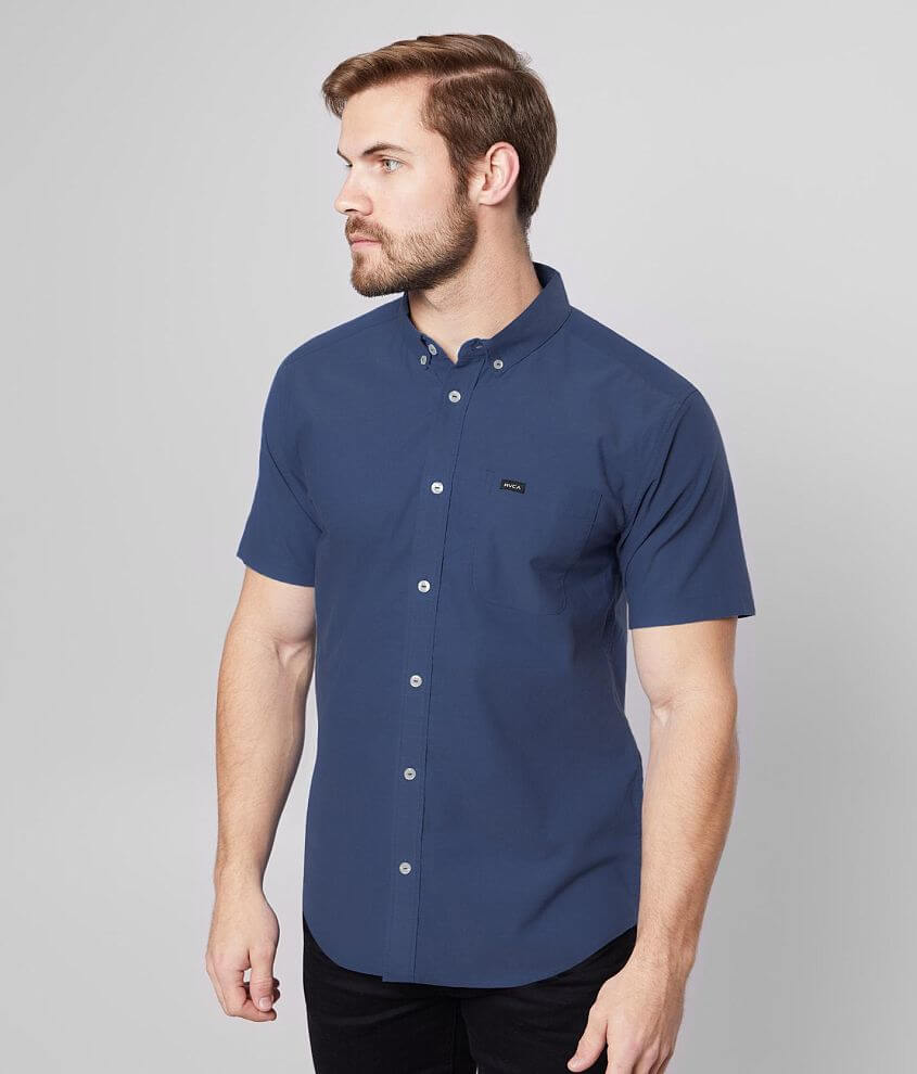 RVCA That'll Do Stretch Shirt front view