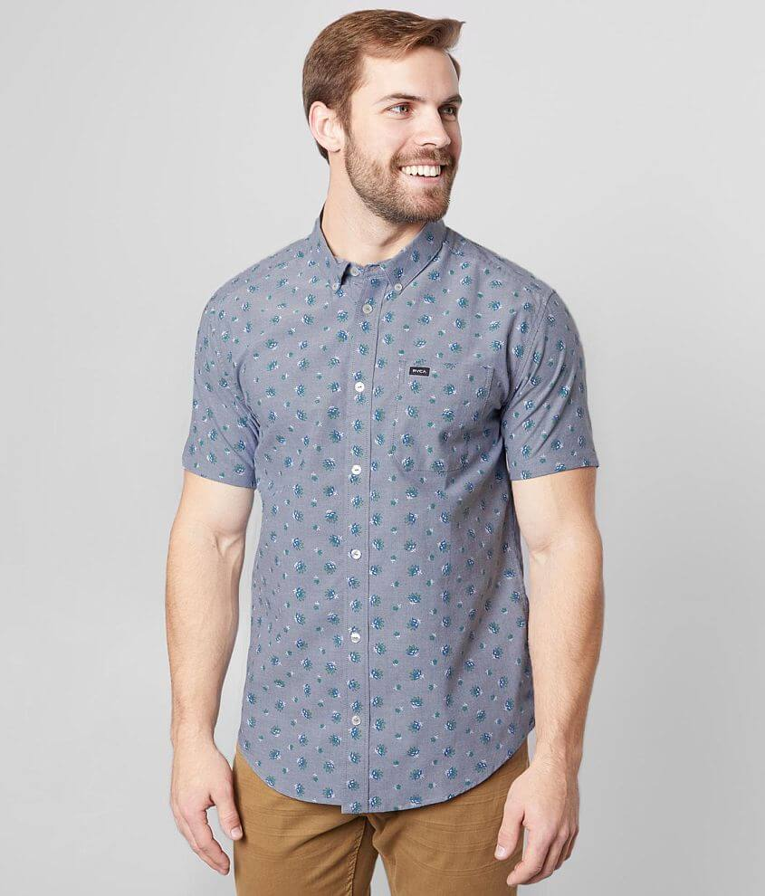 RVCA That'll Do Floral Stretch Shirt front view