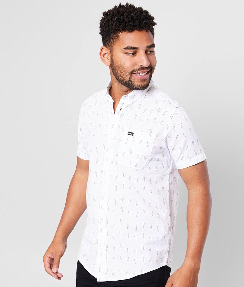 RVCA That'll Do Dobby Woven Shirt front view