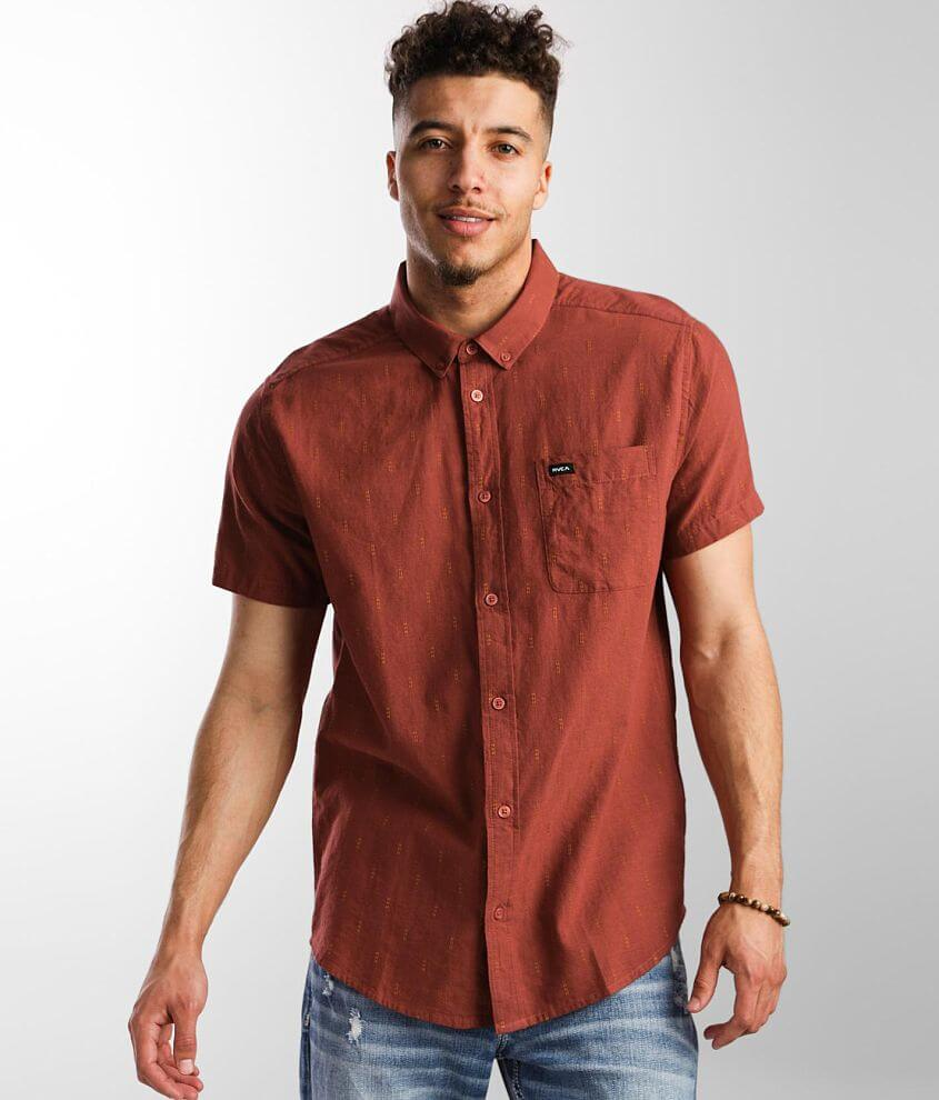 RVCA That'll Do Dobby Shirt front view