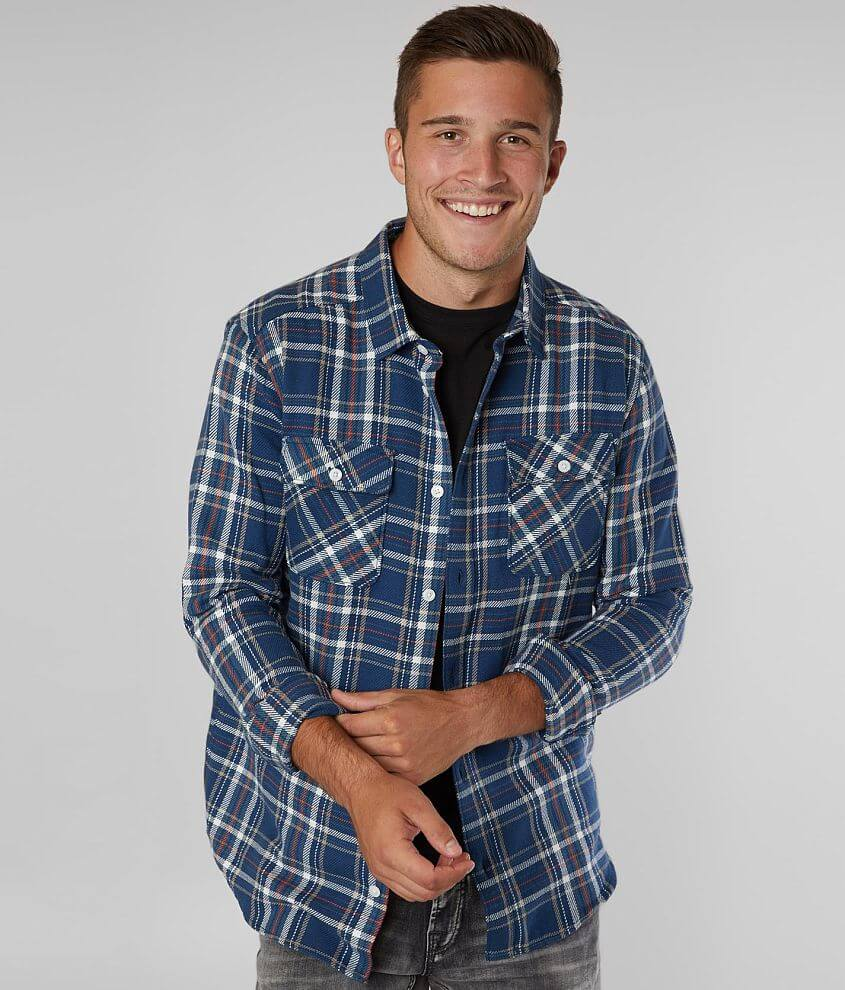 RVCA Avett Flannel Shirt front view
