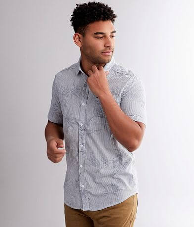 RVCA Richmond Striped Woven Shirt