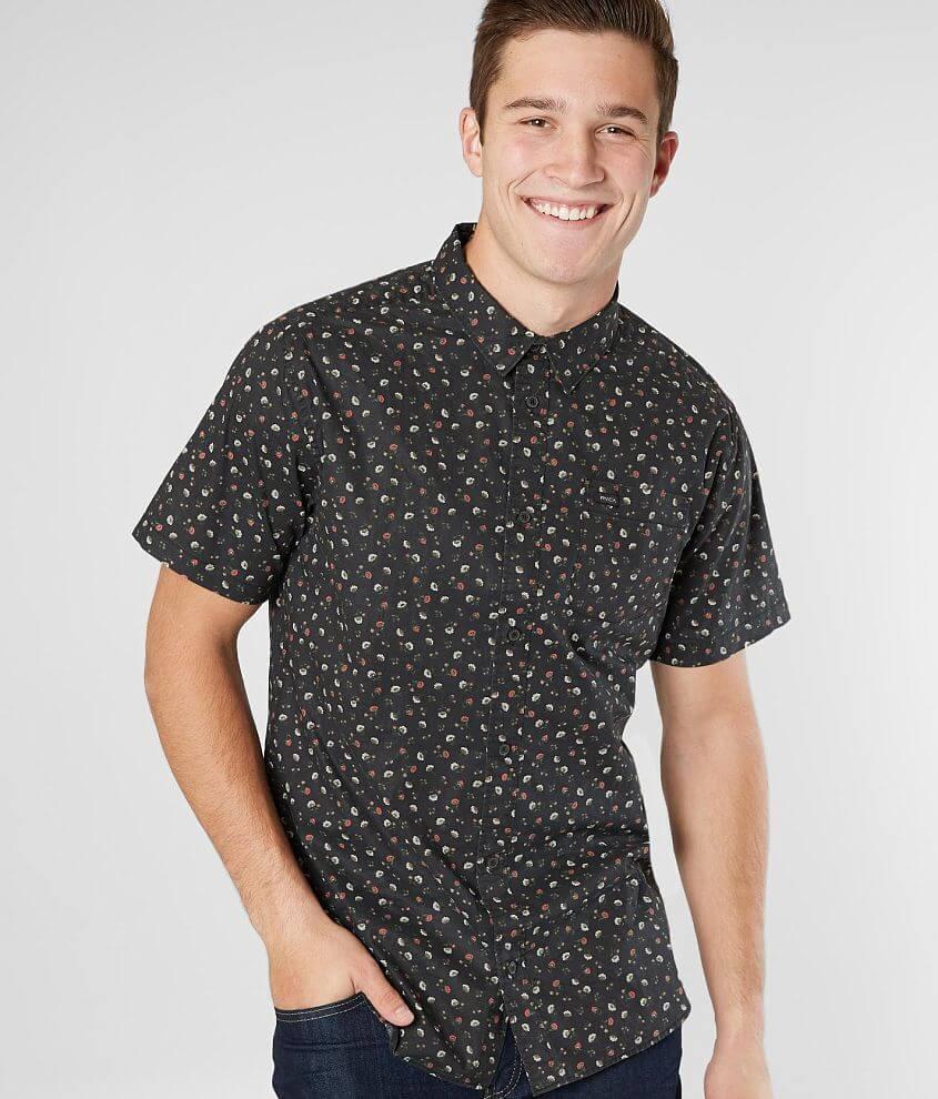 88caada6add0 RVCA Folk Shirt - Men s Shirts in RVCA Black
