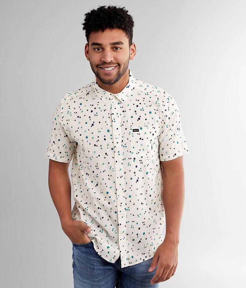 RVCA Calico Shirt front view