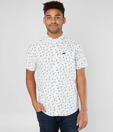 RVCA That'll Do Printed Stretch Shirt
